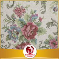 China 30% cotton 70% poly gobelin woven furniture fabric liquidation