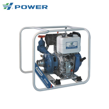 high pressure large movable agricultural irrigation manual start diesel water pump