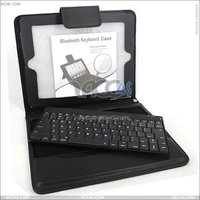 Newest Removable Bluetooth Keyboard Leather Case for The New iPad3/ipad 2 P-iPAD3CASE013
