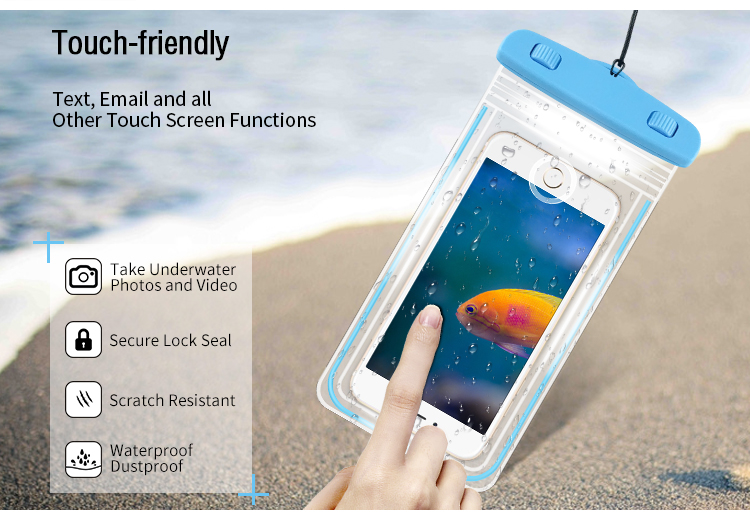 Waterproof Mobile Phone Case bag Wholesale price Waterproof Phone Pouch Case for samsung for iphone