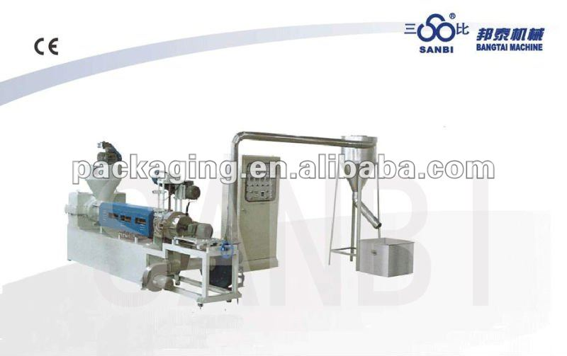 SJ-A90, 100, 110, 120 Wind-cooling hot-cutting Plastic Recycling Machine