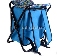 Hot sale eco-friendly foldable cooler lunch bag seat travel cooler bag fishing seat cooler bag