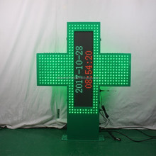 TP P5 SMD video full color led pharmacy cross for pharmacy
