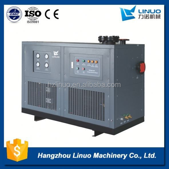 Long lifetime air dryer water cooled refrigerant condenser
