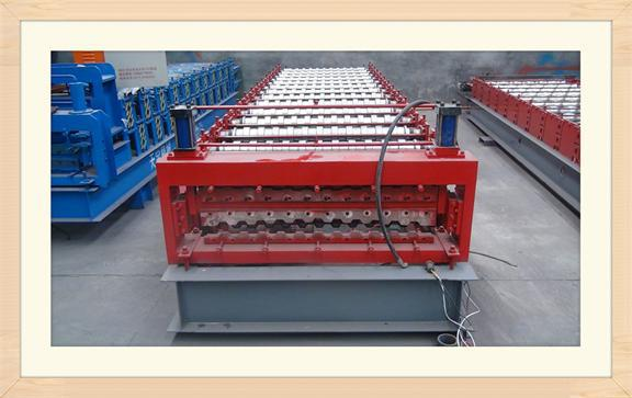 doors and windows sheet metal roofing shingles double layer roll forming machine for sale