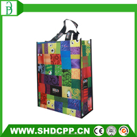 custom shopping laminated pp non woven bag