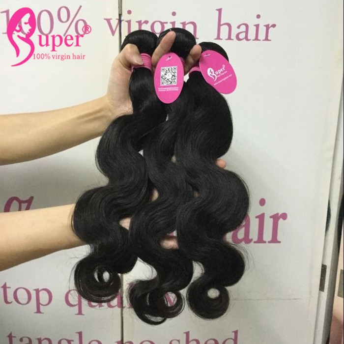 Virgin Remy Double Drawn Skin Weft Hair Extensions Bundle Wholesale Free Shipping Body Wave 7A