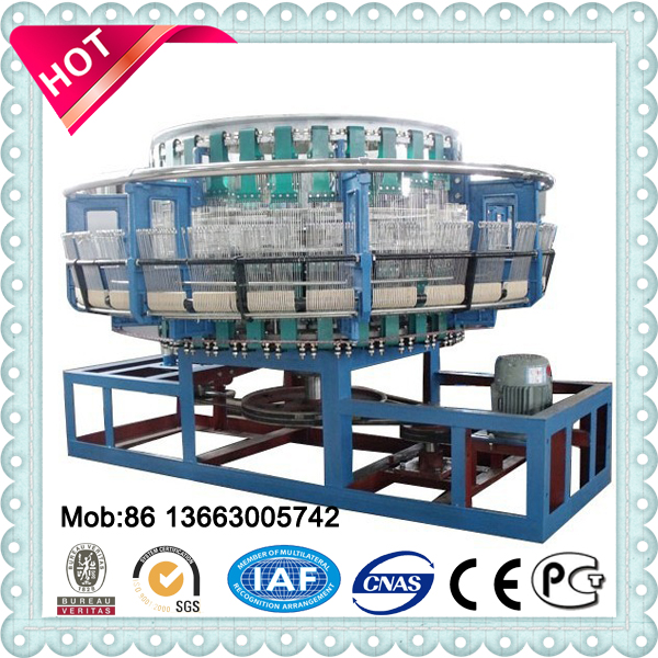 circular loom PP woven sack making machine, pp bag machine for cement plant