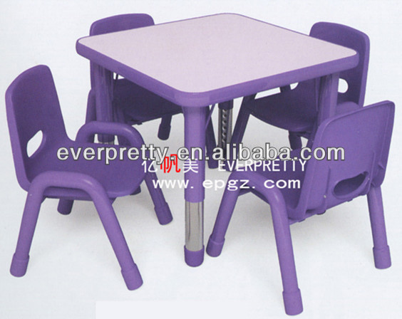 Kids table mats,Children study table,Children plastic tables and chairs