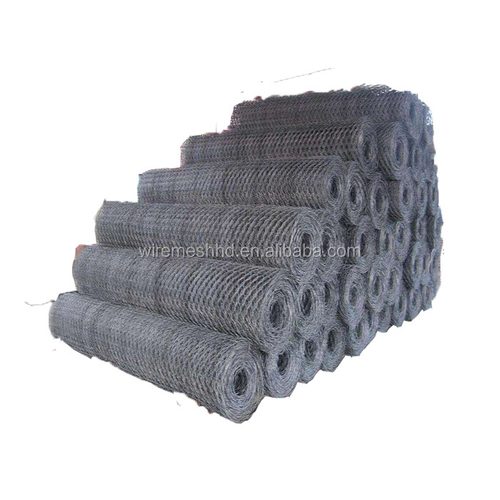 Best price galvanize PVC coated Hexagonal woven wire mesh