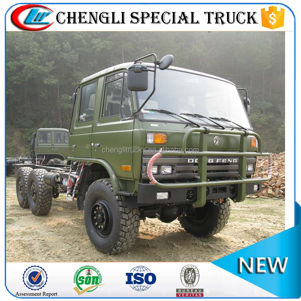 Chinese Dongfeng 6x6 All-Wheel-Drive Off Road Military Lorry Cargo Truck for Sale