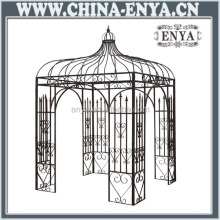 High quality factory price metal gazebo steel roof