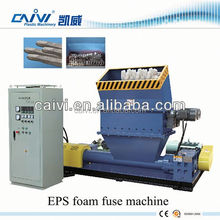 Save cost and transport eps foam fuse machine