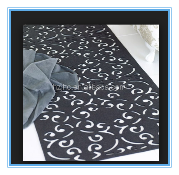 Nonwoven table cloth roll Laser cutting non woven table cloth/table cover