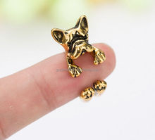 Manufacturer of customized adjustable alloy finger rings ancient gold dog ring