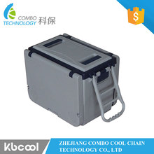 Factory OEM Portable 25L Foldable Camping Table Cooler Box With Wheels