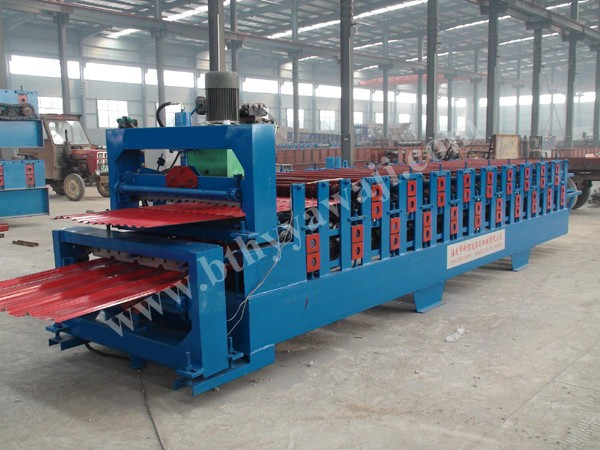 decking floor tiles making line made in China