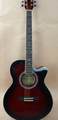 41inch Linden acoustic guitar with tensor ,Mahogany neck