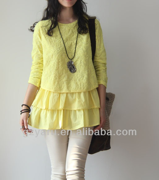new fashion one size fits all blouse