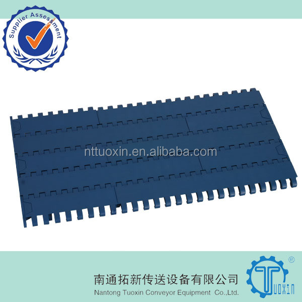 1000 Flat Top Plastic Conveyor Belt For Food Grade
