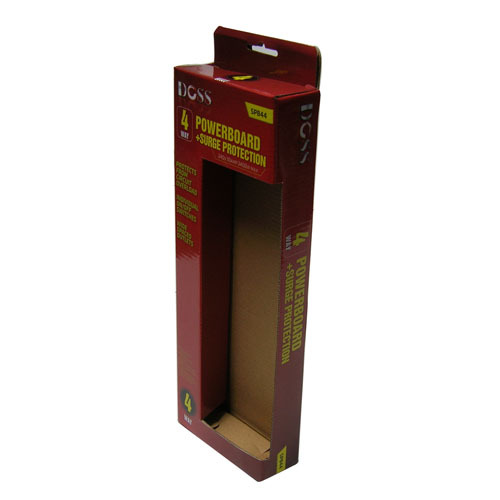 Handle style Cut out window cardboard gift box