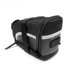 Bike Seat Saddle Bag, Bicycle Rear Tail Strap-On Pouch Large