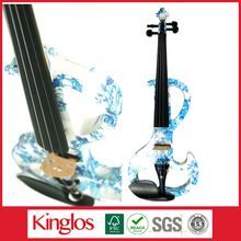 Kinglos -Black Musical Instruments Colorful Student Black Universal Violin (DSZA-1201-011)