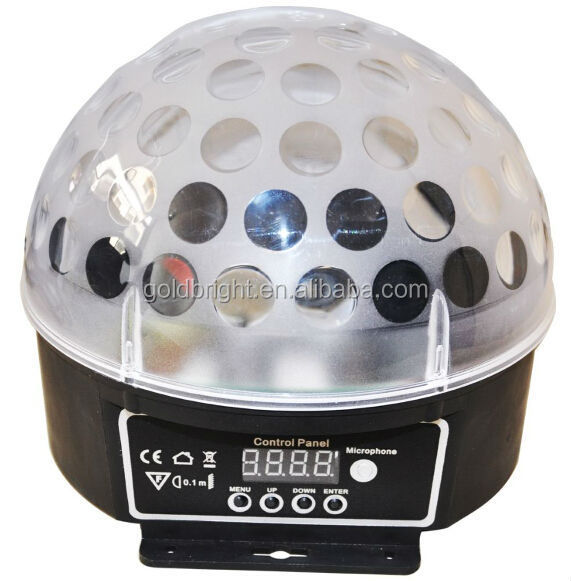 China cheap led light (mp3/bluetooth) 18w disco ball light mini crystal ball
