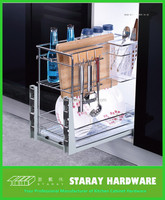 3 Tier Multi-functional Soft-closing Kitchen Pull-out Basket