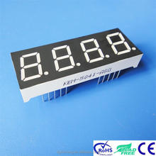 "0.5"" white 7 segment 4 digit led display module"