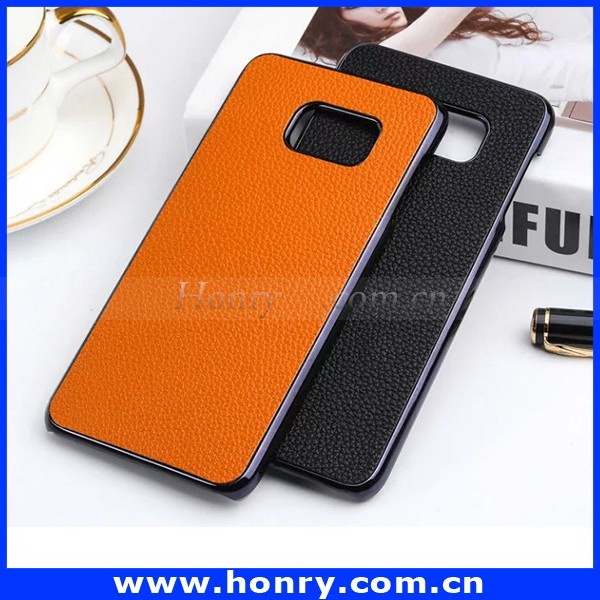 2016 new products wallet leather case for samsung s7 edge