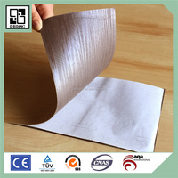 China brand high quality eco pvc color liquid floor tile ,decorative noble house flooring