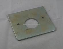 China Cutting, Bending, Welding, Polishing OEM Metal Bracket Square