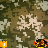 Super Value camouflage spray paint transfer film No.DGDAC002 paint for plastic water transfer printing film