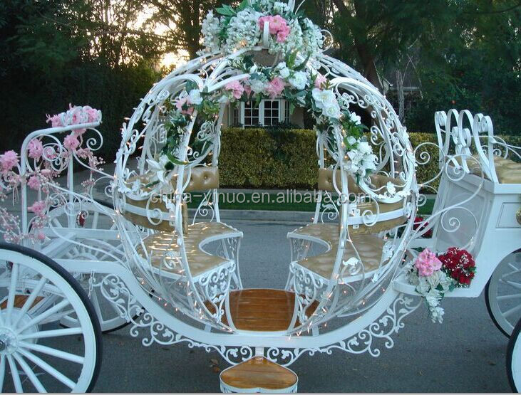 calche yizhinuo cendrillon transportcheval wagon pour mariage location - Location Caleche Mariage