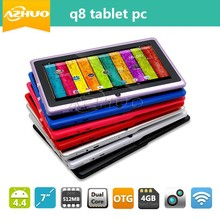 Factory direct cheap 7 inch tablet pc android tablet Q8 tablet pc
