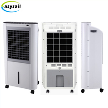 2017 best selling 165W 900 m3/H home floor standing water air cooler evaporative standing air conditioner