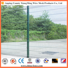 PVC Coated RAL6005 Green Curved Fencing