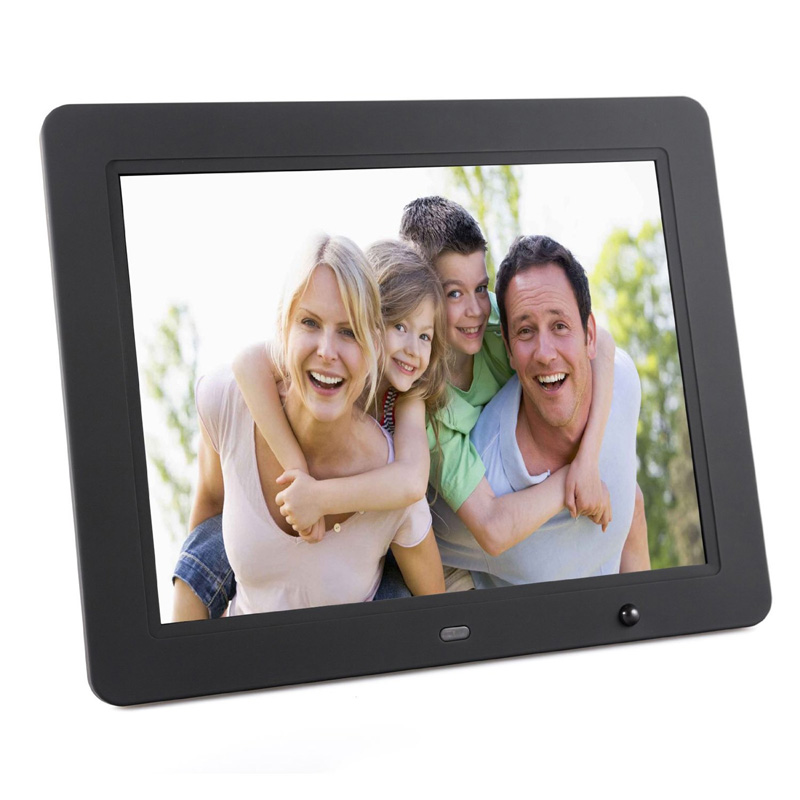 12 inch large screen digital photo display 4:3 led video player