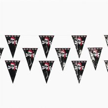 New products custom printing outdoor decorative pennant triangle string mini flags