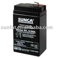 (RB455B) Rechargeable lead acid battery