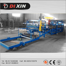DIXIN 2015 hot sale Inside eps and rockwooll aluminium composite sandwich panel machine production line