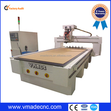 professional ATC machine center moving Column for wood industry working/cheap price column auto tool changing CNC router