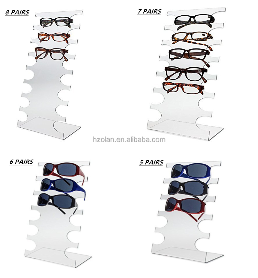 New Design Counter 8-tier reading glass Eyewear Display Stand