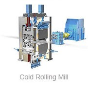 Hot re-rolling machine to form reinforce bar round bar