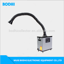 Mobile Soldering Fume Extractor Mini Smoke collector for Welding cutting grinding