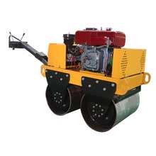 Good quality double drum road roller price