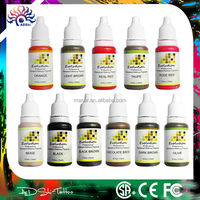 Cheap original pure permanet makeup pigment tattoo ink manufacturer usa