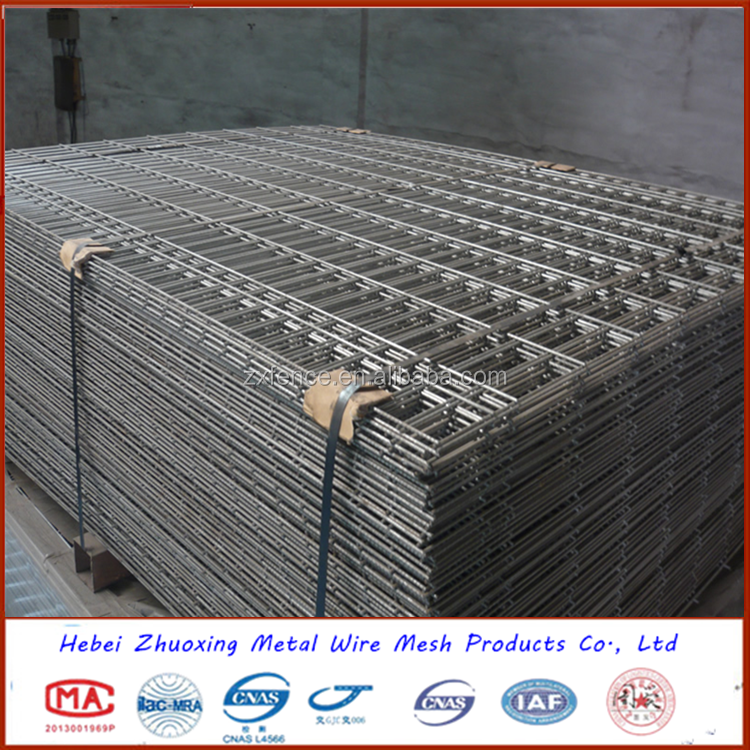 stainless steel 6X6 reinforcing welded wire mesh panels