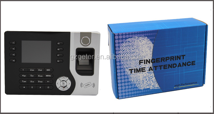 Fingerprint reader time attendance with software and SDK
